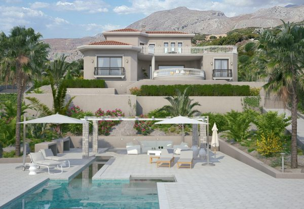 New Vacation Villa with Swimming Pool